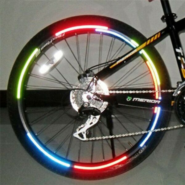Reflective Stickers Bicycle Bicycle Accessories Body Cycling Dead fly bicycle C $9.54