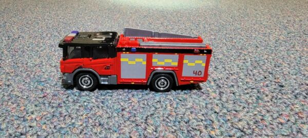 MATCHBOX SCANIA P 360 Fire engine