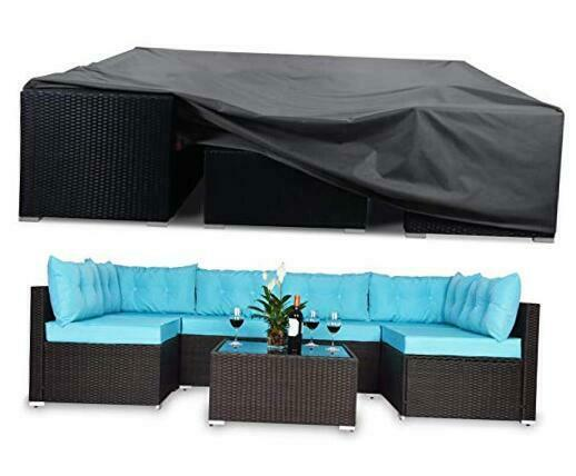 Patio Furniture Covers Heavy Duty Waterproof Outdoor Sectional 124x63x28