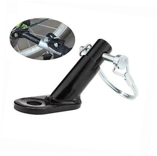 Bicycle Rear Racks Steel Bicycle Trailer Hitch Mount Adapter 1 Pack $13.15