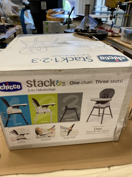 Chicco 06079669210070 Polly2Start Highchair 4 Recline Positions Graphite