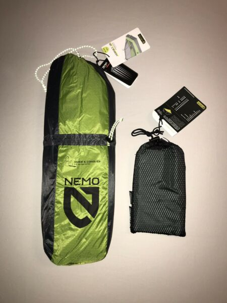 Nemo Hornet 2p Ultralight Backpacking Tent W Footprint Included $389.77