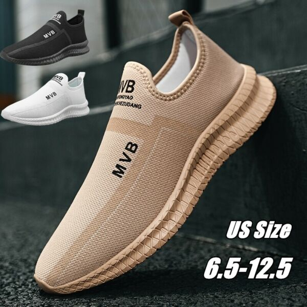 Men#x27;s Casual Sneakers Outdoor Sports Running Shoes Athletic Walking Tennis Gym