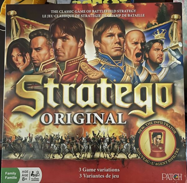 Stratego Original 2014 With 3 Game Variations