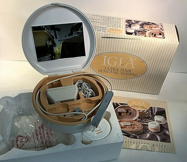 IGIA Home Electrolysis Ultra Hair Removal System BM4020 Tested amp; Working in BOX