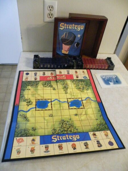 Stratego Game Collection Bookshelf Library Book Shelf Complete 42752 FREE SHIP