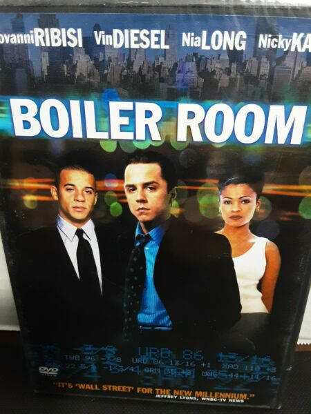Boiler Room DVD 2000 Giovanni Ribisi Vin Diesel New amp; Sealed $9.99