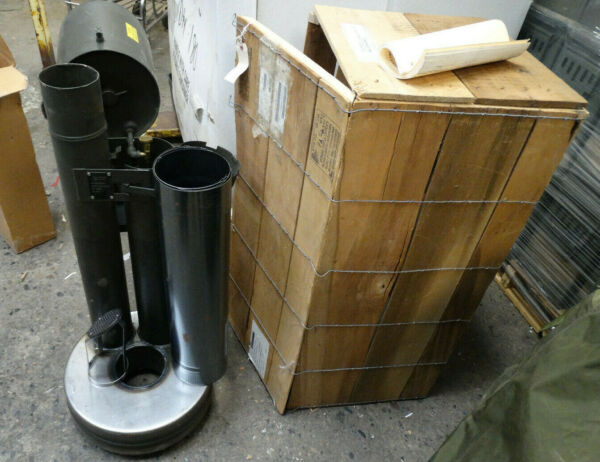 US Military Liquid Fuel Fired M67 Immersion Heater BRAND NEW IN THE WOOD CRATE $800.00