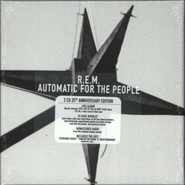 R.E.M. Automatic For The People 25Th Anniversary Deluxe Edition Factory Sealed $21.98