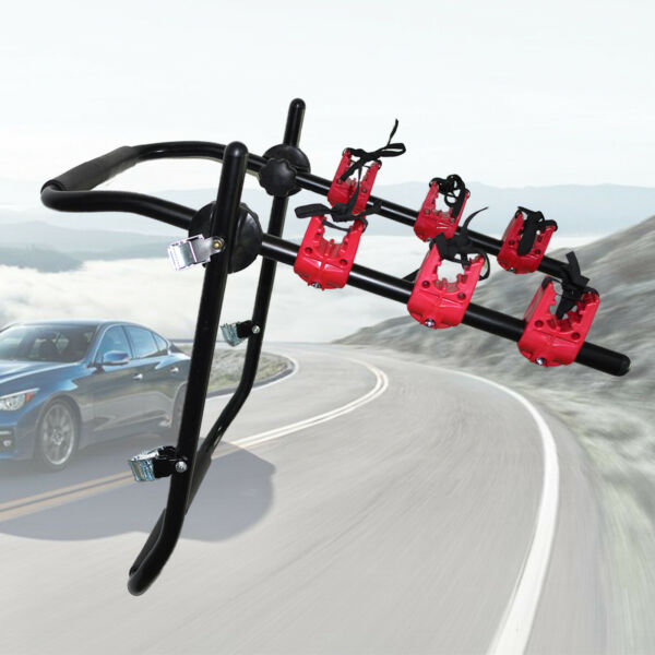 3 Bicycle Bike Rack Auto Hitch Mount Car SUV Truck Carrier Van for 3 Bikes Hot $54.01