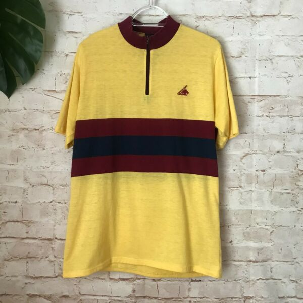 Men#x27;s Vintage CANNONDALE Bike Cycling Size Large L Shirt Jersey Made in USA Vtg $38.80