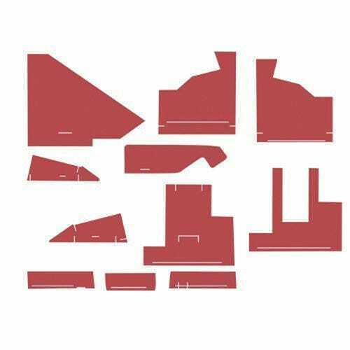 Cab Foam Kit with Headliner Red Material s n 277182 300158 Compatible with $347.44