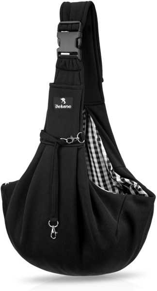 Jekeno Small Dog Sling Cat Carrier Adjustable Strap Hands Free Pet Puppy Travel $22.26