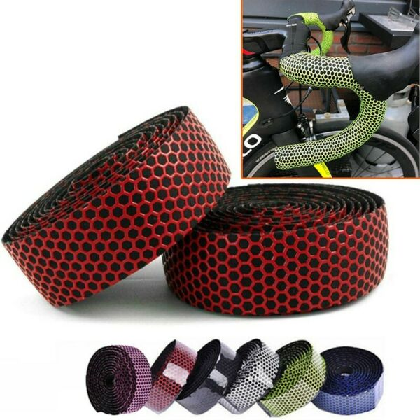 Handlebar Tapes Cork Outdoor Parts Silicone Supply Accessories Bandage C $20.88
