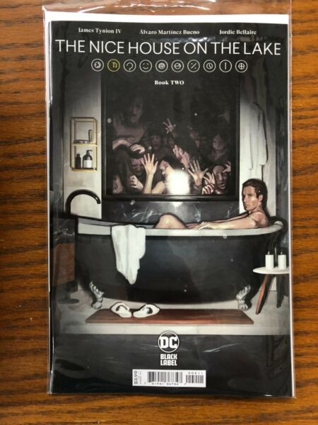 THE NICE HOUSE ON THE LAKE 2 2A main DC BLACK LABEL NEW 2021 first 1st print $4.35