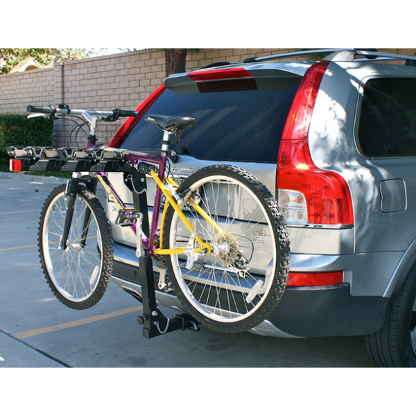 Hitch Mount 4 Bike Rack for Car Van SUV Transport Four Bicycle Stand Steel Frame $149.99