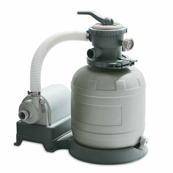 Summer Waves 12 Inch Sand Filter Pump System for Above Ground Pools Open Box $139.99