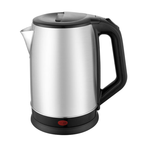 2L Electric Tea Kettle Water Boiler Fast Boiling Stainless Steel 3 Layer Protect $19.69