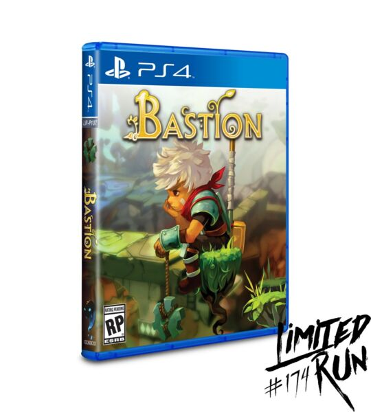 Bastion PS4 New amp; Sealed w Card 276 Silver Limited Run Games #174 Sold Out $69.98