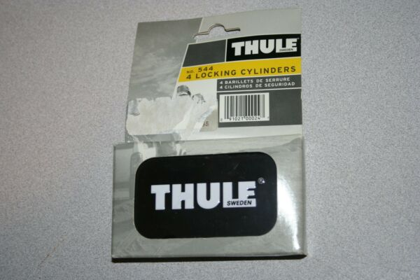 Thule No. 544 4 Locking Cylinders NEW $49.99