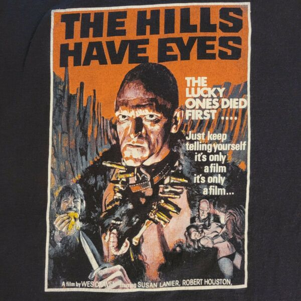 The Hills Have Eyes Wes Craven Micheal Berryman Horror Slasher Film T Shirt $25.00