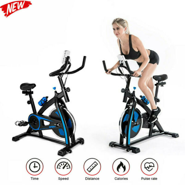 Stationary Exercise Bicycle Indoor Bike Cardio Health Cycling Home Fitness △ $129.99