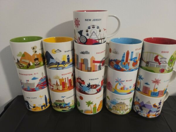Starbucks Coffee You Are Here Series 14 oz. Collection