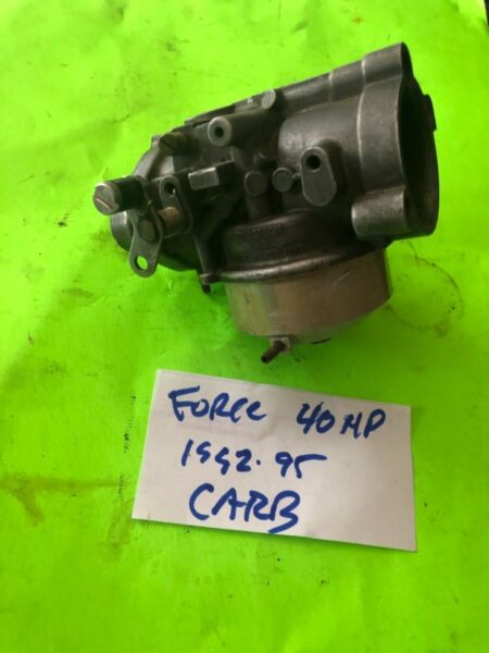 Force outboard 40hp carb carburetor 2cyl 1992 to 95 $195.00