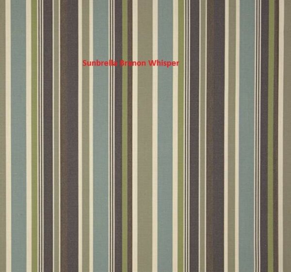Sunbrella Brannon Whisper 5621 0000 outdoor indoor fabric by the yard 54quot; wide