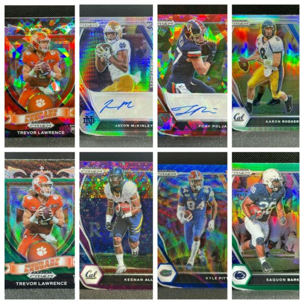 2021 Prizm Draft Picks PARALLELS AUTOS ICE Pick Your Card 20% Off 3 $2.00
