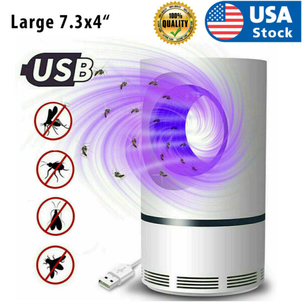 Electric Mosquito Insect Killer Lamp Zapper LED Light Fly Bug Trap Pest Control $11.98