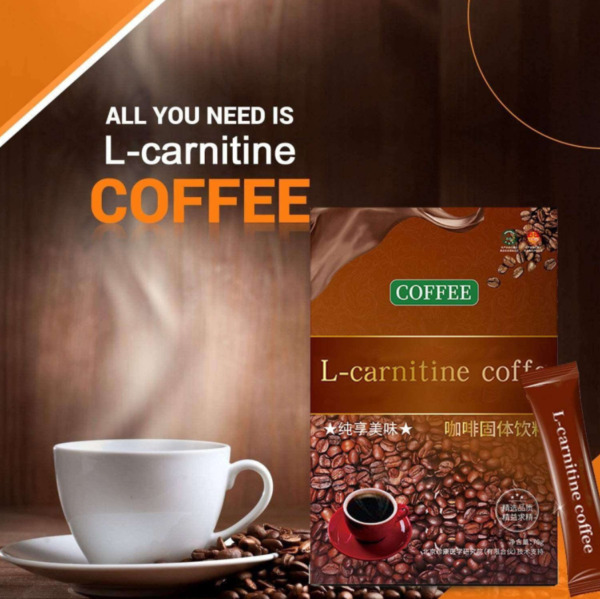 L Carnitine Instant Coffee For Weight Loss Slimming Coffee1 Box 7 Packs