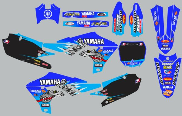 Decals for YAMAHA GRAPHICS YZ 450F YZ450F YZ450f YZ 450F 2018 2019 2020 $95.00