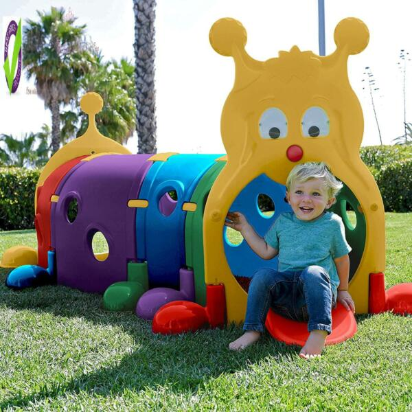 Kids Play Tunnel Outdoor Indoor Large Caterpillar Huge Centipede Toy Playground $221.99