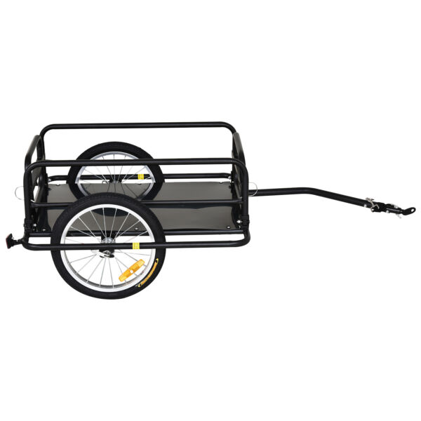 Bicycle Cargo Trailer Bike Wagon Utility Luggage Storage Cart Carrier with Hitch $157.14