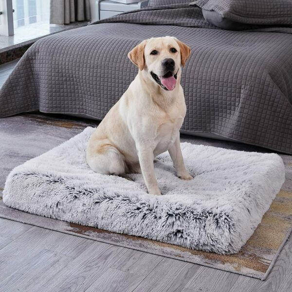 Large Orthopedic Dog Pet Bed Mat Kennel Crate Mattress 40in for Pain Relief $32.98