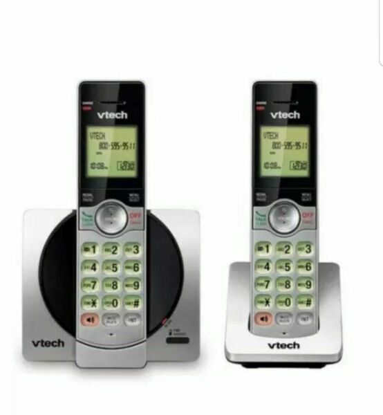 VTECH *CS6919 2* 2 HANDSET CORDLESS PHONE SYSTEM WITH CALLER ID CALL WAITING