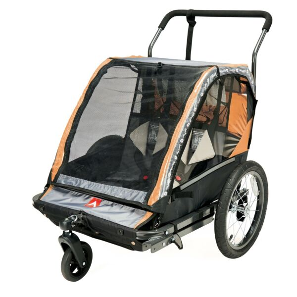 Allen Sports 2 Child Bicycle Trailer and Stroller Model AS2 Brand New $119.99