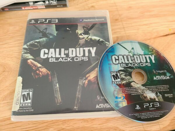 SONY PlayStation 3 PS3 Call of Duty: Black Ops $6.99
