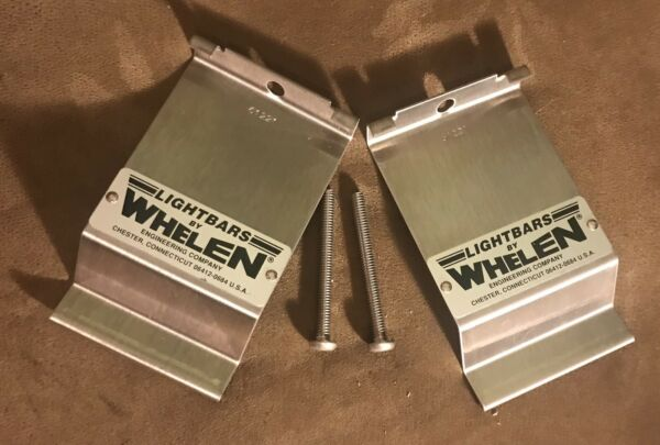 New Old Stock Whelen Lightbar Clamps. Stamped With Number 61221