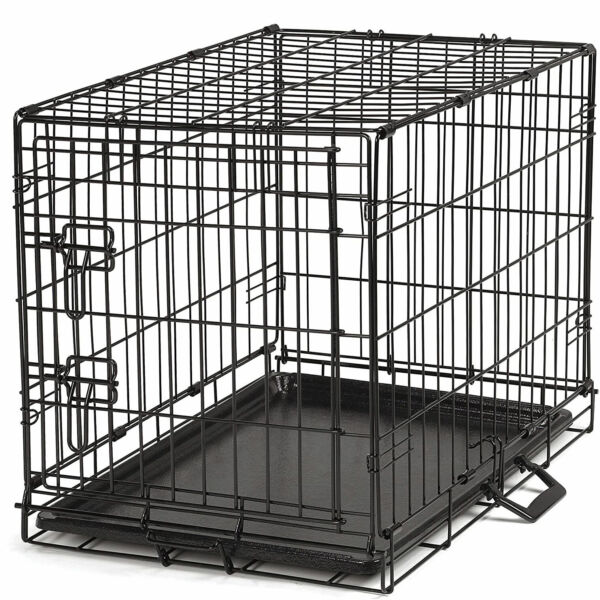 ProSelect Pop Up Highly Secure Easy Durable Small Wire Dog Crate Black Used $23.39