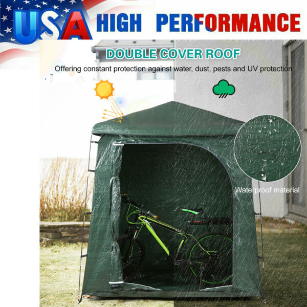 Waterproof Bicycle Shed Portable Bike Storage Tent Space Saving Shelter USA R2V9 $66.95