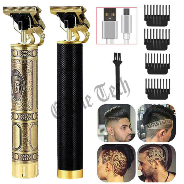 Professional Hair Clippers Trimmer Shaver Clipper Cutting Beard Cordless Barber $19.89