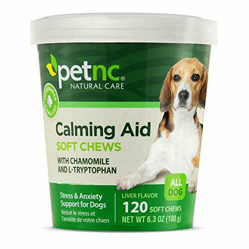 PetNC Natural Care Calming Aid Soft Chews for Dogs 120 Count Free Shipping $11.62
