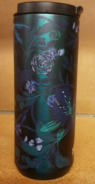 👀 STUNNING Starbucks 12oz hot drink thermal cup 2021 Fall Rising Floral design