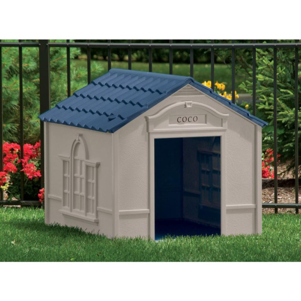 XL DOG HOUSE KENNEL FOR X LARGE 100 LBS Pet Outdoor Heavy Duty Doghouse Shelter $107.95