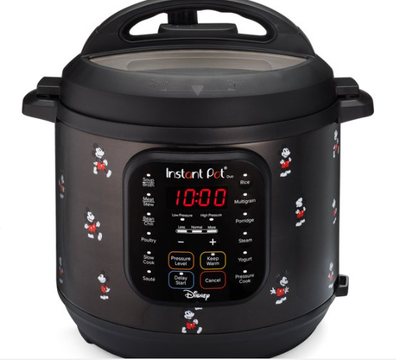 Instant Pot Duo 6 Quart Mickey Mouse Classic 7 in 1 $55.00
