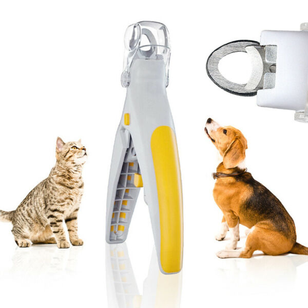 Pet Dog Nails Clippers Trimming Tool Scissors Cat Trimmer Toe Pliers Prune LED $6.99