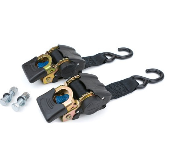 2 Pack Marine Retractable Transom Tie Down 2500lbs Boat Trailer 2 inch Strap 43quot; $38.99