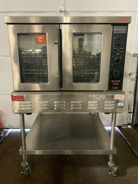 Lang GCCO AP Accu Plus Natural Gas Full Size Convection Oven w Stand $1999.99